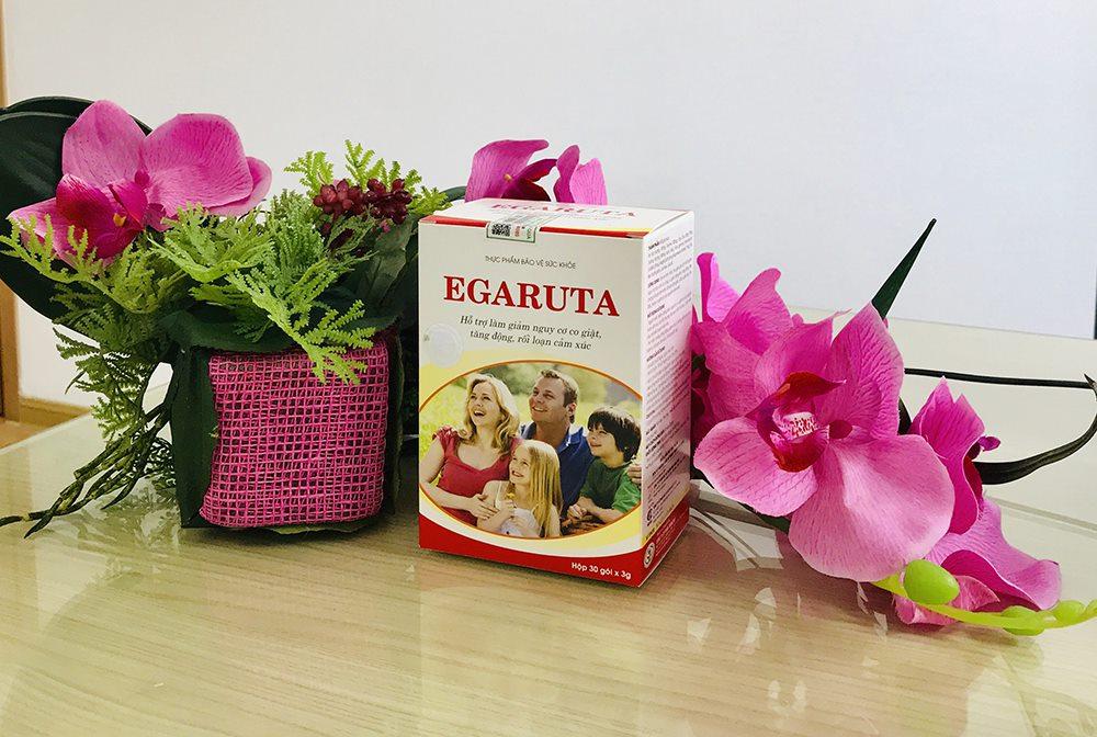 Cốm Egaruta giúp ngăn ngừa cơn co giật do sốt cao hiệu quả